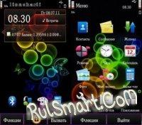 Скриншот Rainbow Bubbles