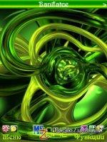 Скриншот Green abstract