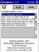 Скриншот RegKing2003