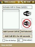 Скриншот WifiLocations 0.6