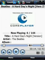Скриншот 12 скинов для Core player wm