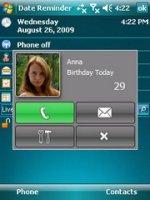 Скриншот Date Reminder