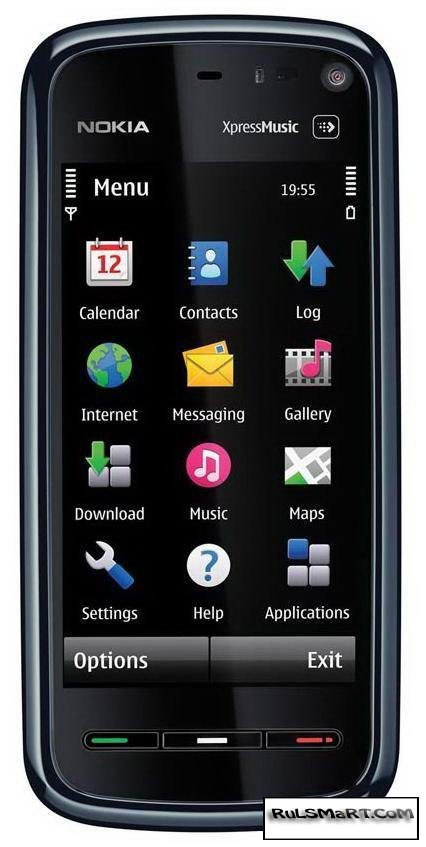 Nokia заменит экран 5800 XpressMusic