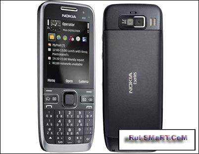 Компания Nokia представила смартфон Е55