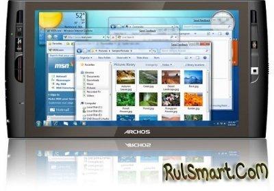 Archos 9: 8,9-дюймовый мини-планшет на базе Intel Atom