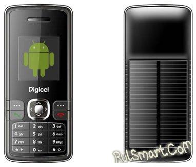 Android-фон на солнечной энергии появится в 2010 году