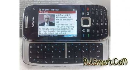 Nokia E75: новые фотографии ожидаемого смартфона