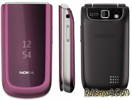Стильный и функциональный телефон Nokia 3710 fold