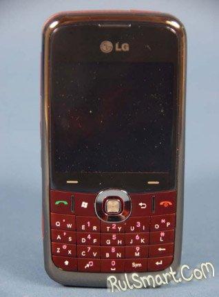 Смартфон LG GW600 одобрен FCC