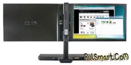 EVGA выпускает двойной LCD-монитор