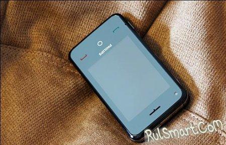 Скриншоты интерфейса первого Android-фона Philips