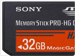 Sony завершила стандартизацию формата Memory Stick XC
