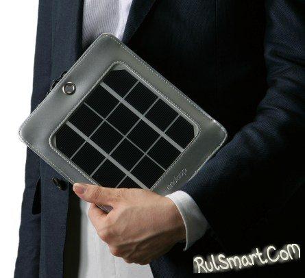 Sanyo выпускает мобильные солнечные панели