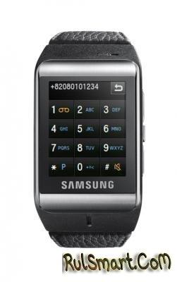 Самый тонкий телефон-часы от Samsung