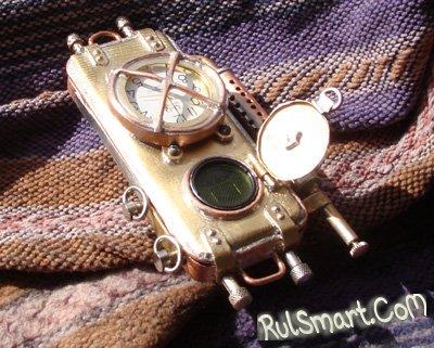Телефон в стиле стимпанк из России