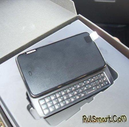 Nokia N900 Rover — телефон на ОС Maemo 5
