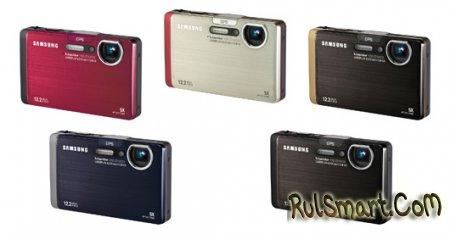 Samsung ST1000 — первая компактная фотокамера с GPS, Wi-Fi, Bluetooth и тачскрином