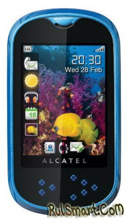Alcatel OT–708: доступный и сенсорный