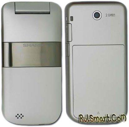 Sharp SH6118C — простая раскладушка с OLED-экраном
