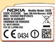 Nokia RM-559: еще один смартфон на базе Maemo?
