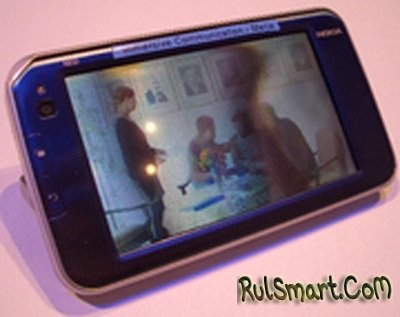 Nokia показала интернет-планшет с 3D-дисплеем