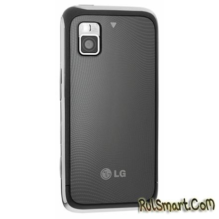 LG GM750: тачскрин-моноблок на основе Windows Mobile 6.5