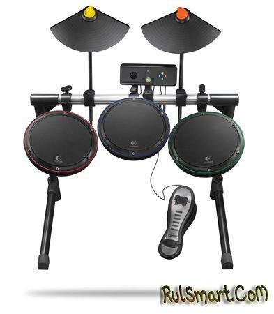 Музыкальные инструменты Logitech для Guitar Hero