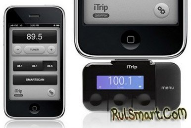 FM-приставка для iPhone и iPod