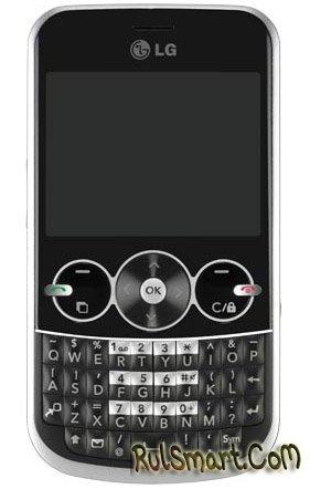 Анонсирован QWERTY-телефон LG GW300
