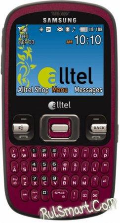 Samsung представил новый мобильный телефон Samsung Freeform для Alltel Wireless