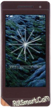 DOCOMO разработал мобильные телефоны из отходов деревообработки