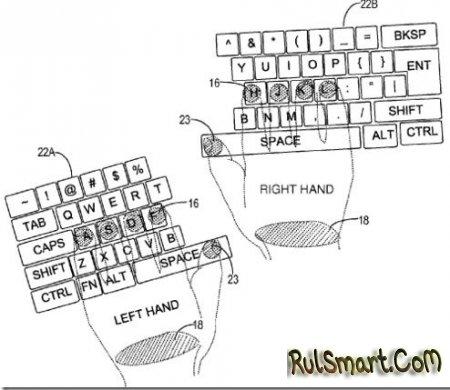 Microsoft разработала сенсорную клавиатуру для печати вслепую