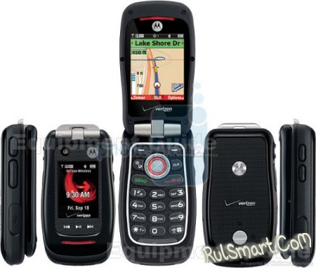 Motorola Barrage V860: прочная CDMA-раскладушка с поддержкой push-to-talk