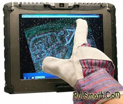 Защищенными планшетниками Getac можно управлять в перчатках и без