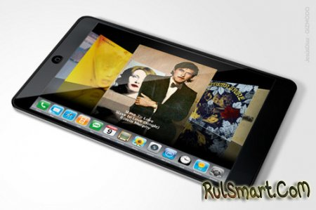 "Apple Tablet: 10,7"" экран, iPhone OS"