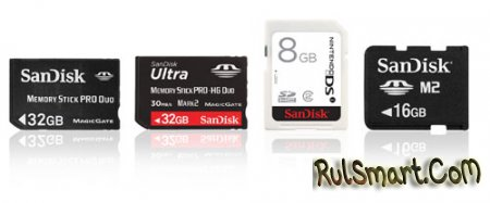 Новые флеш-карты SanDisk для игровых консолей