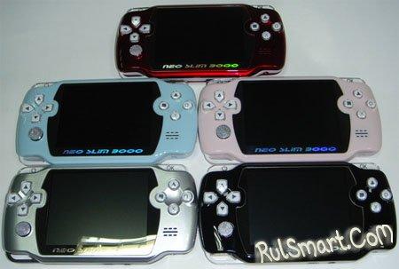 Neo Slim 3000: игровая консоль с возможностями медиаплеера