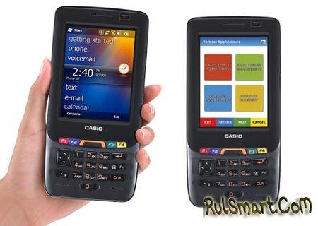 Casio IT-800 RGC-35: прочный и водостойкий коммуникатор