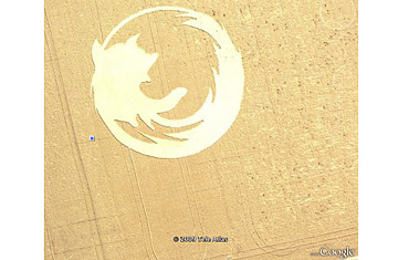 Лучшие находки Google Earth