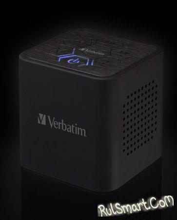 Портативная акустическая система для мобильного телефона: Verbaitm Bluetooth Audio Cube