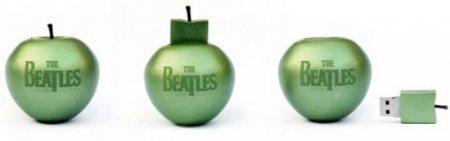 Песни The Beatles выпустят на USB-яблоках