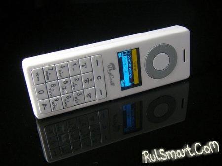 Китайцы скрестили iPod с телефоном