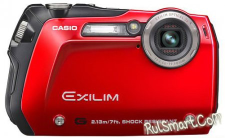 Casio представила фотокамеру в традициях G-Shock