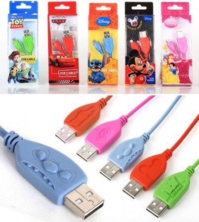 USB-кабель с героями Уолта Диснея