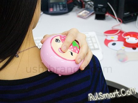 USB грелка-массажер: и согреет, и кости разомнет