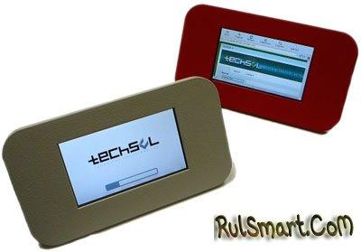 Techsol TPC-43C: экологичный планшетный ПК с сенсорным экраном