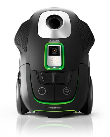 Electrolux представила пылесос, оснащённый док-станцией для iPod