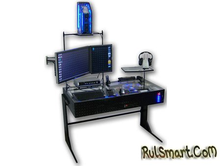 Cтол-компьютер с дисковой подсистемой в 3,6 Тб