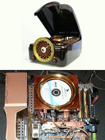 Ретро-моддинг: компьютер в корпусе проигрывателя Zenith Bakelite