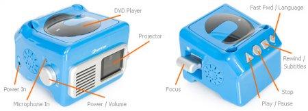 Mobile Cinema DVD – мобильный проектор с караоке